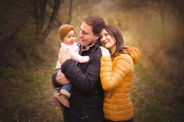 Familienfotos Herbst Fulda